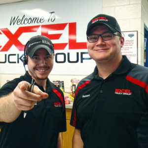 Happy Excel Truck Group Employees